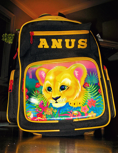 An interesting backpack…
