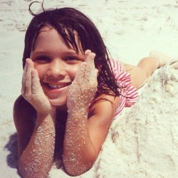 Total beach babe. #tbt #florida #1996 #throwbackthursday #beach #summer