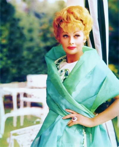 "sparklejamesysparkle:  ""Technicolor Tuesday"": Lucille Ball"