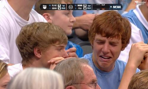 jenniferswift:  LOL @ SAD TARHEEL FAN  Rock a Bye Ginger