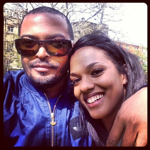billiepiedpiper:  Look who I'm with today! #Wife #Beautiful #DrWho #Freema #TheCarrieDiaries #Clarke