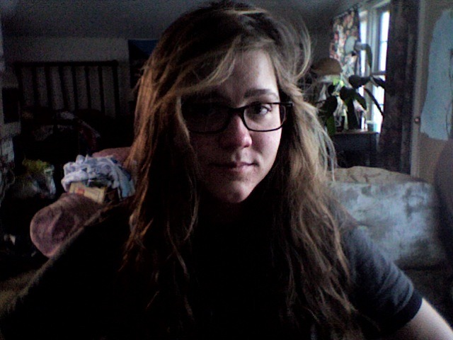 killer bed head this morning, if i do say so myself