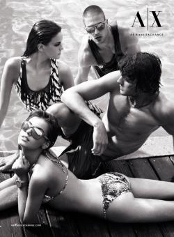 Armani Exchange's Summer 2013 Campaign