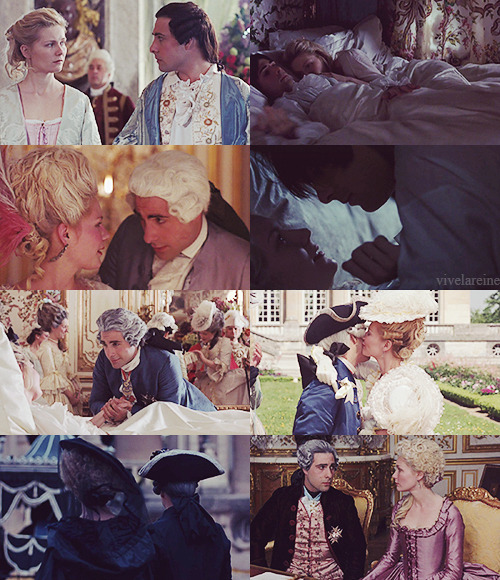 My place is here with my husband.  —Marie Antoinette (2006)