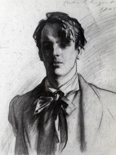 Featured Artist :   John Singer Sargent - Portrait of William Butler Yeats (1908)