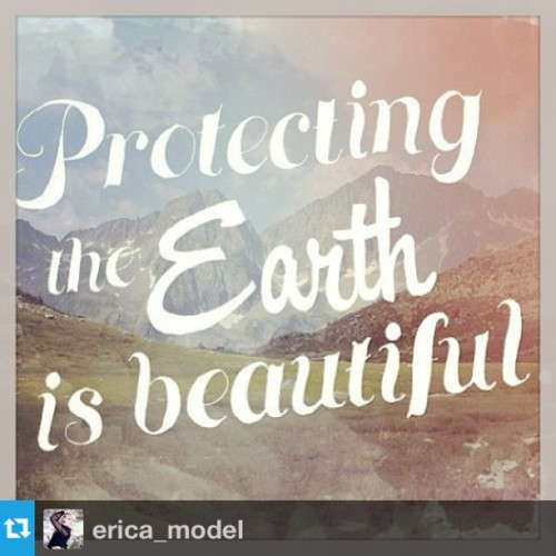 #Repost from @erica_model - #EarthDayLive @ YoungVoterLive.com