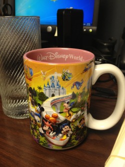 Kick ass Disney cup I found at my Lawry office.