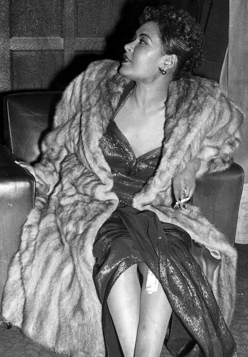 steamboatbilljr:  Billie Holiday, 1954
