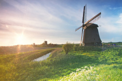 Schermerhorn Windmill ♦ Shermerhorn, The Netherlands | by ManBatur Photography