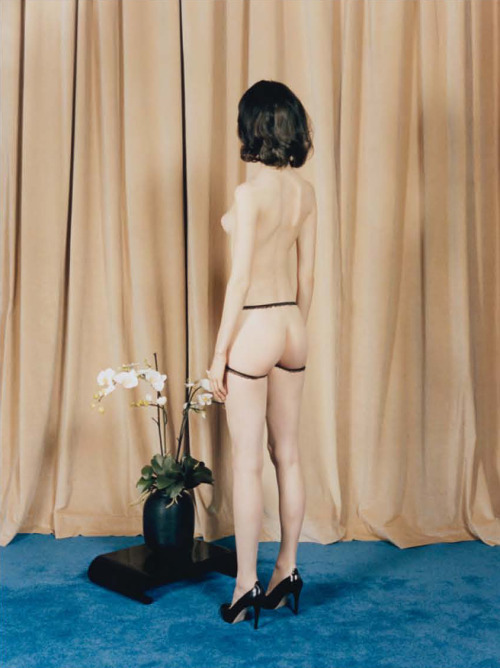 unviel:  Ours Is A Nice House. Yumi Lambert photographed by Venetia Scott for Self Service #38, Spring/Summer 2013