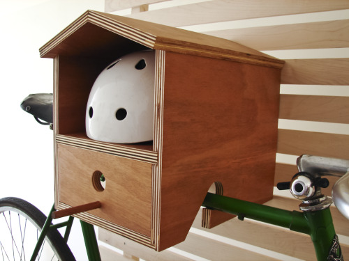 Bike Rack Birdhouse – Design by DIMINI