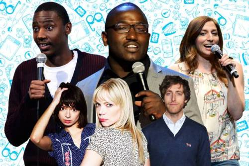 "popculturebrain:  The 50 Comedians You Should and Will Know | Vulture #accurate  I love everything about this list except for the fact that there is no ""list view."""