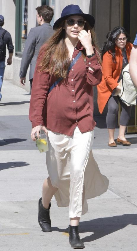 Elizabeth Olsen out in NYC, April 8th