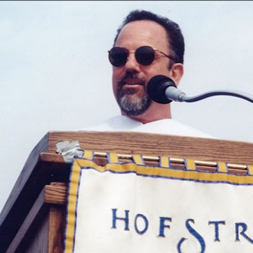 Graduation  #tbt: Billy Joel delivers commencement speech to Class of 1997! #hofstra #graduation #hofgrad13 #billyjoel #longisland