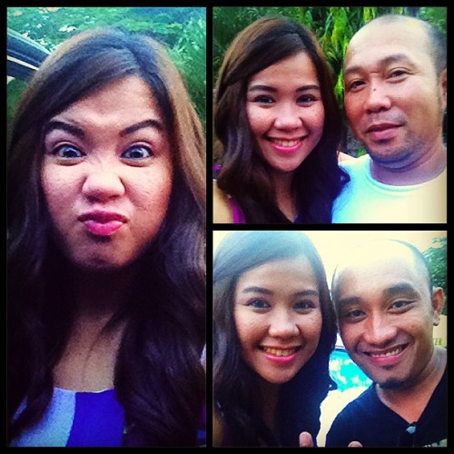 Me.Tito.RJ. Bored at the wedding. Lol. (at Zabarte)