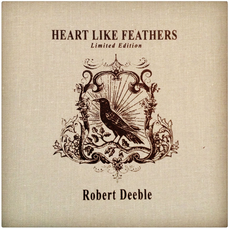"ROB DEEBLE  I designed this Rob Deeble album a while back,  but hadn't seen it in print nor watched the ""making of"" DVD until now. It's fantastic. I'm thrilled to be a part."