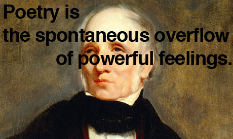 explore-blog:  Wordsworth on poetry.
