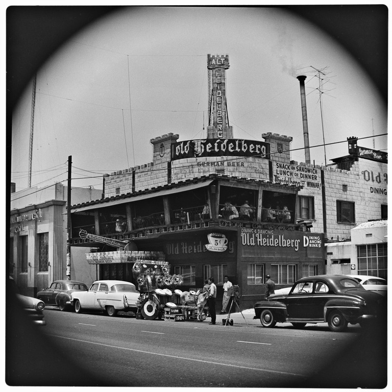 The Old Heidelberg Restaurant, June, 1964, Harry Crosby Collection, MSS 333
