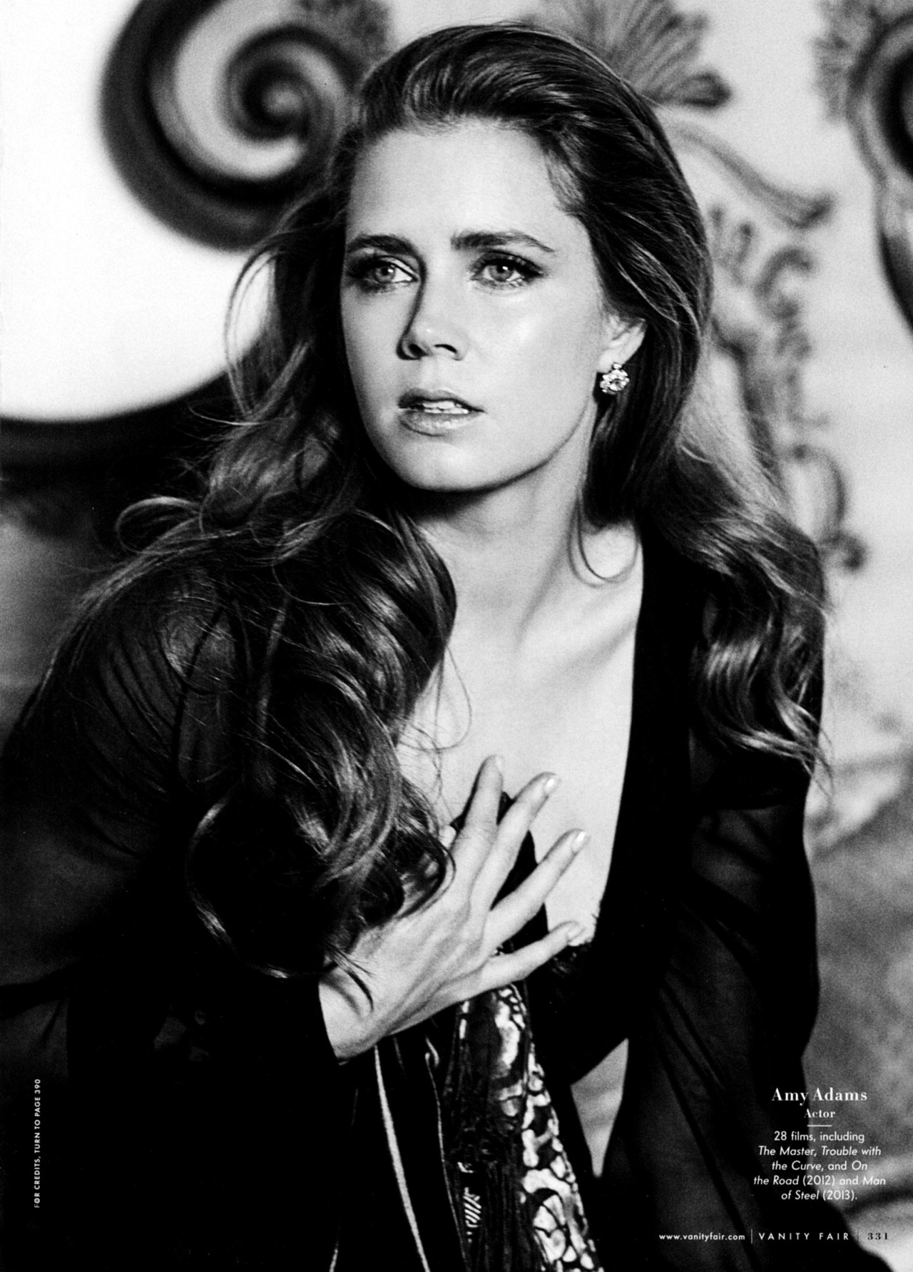 Amy Adams - Vanity Fair by Bruce Weber, March 2013
