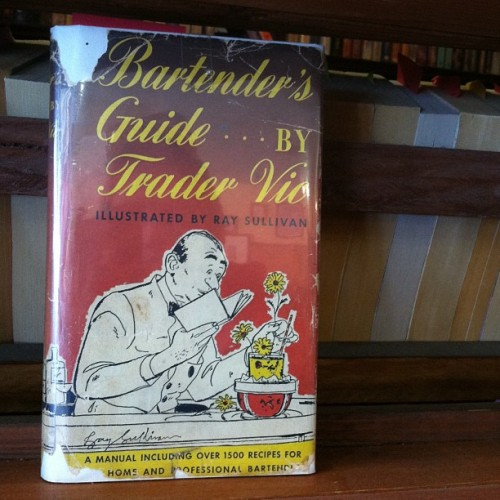 Calling all bartenders! 1948 reprint now in our Wilson's Recommends Section. #tradervic #usedbooks #oldbooks #vintage #vintagebooks #wilsonsbookworld #dtsp #stpetersburg #stpete #keepstpetelocal #clearwater #dunedin #tampa (at Wilson's Book Store)