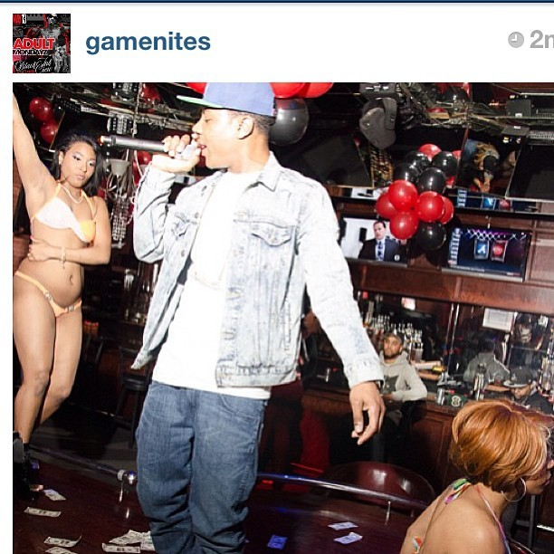 #Rp from @gamenites @jaeodraftpick made it rain while rocking #100s50s20s. Video on the way stay tuned!