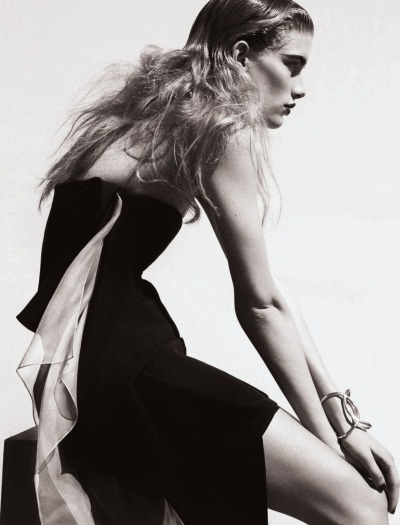 inbeautyandvanity:  Ilse De Boer by Marcus Ohlsson for UK Elle June 2013