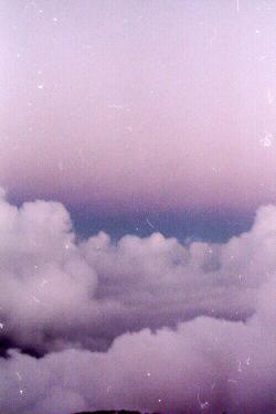 pretty sky vintage landscape clouds pastel