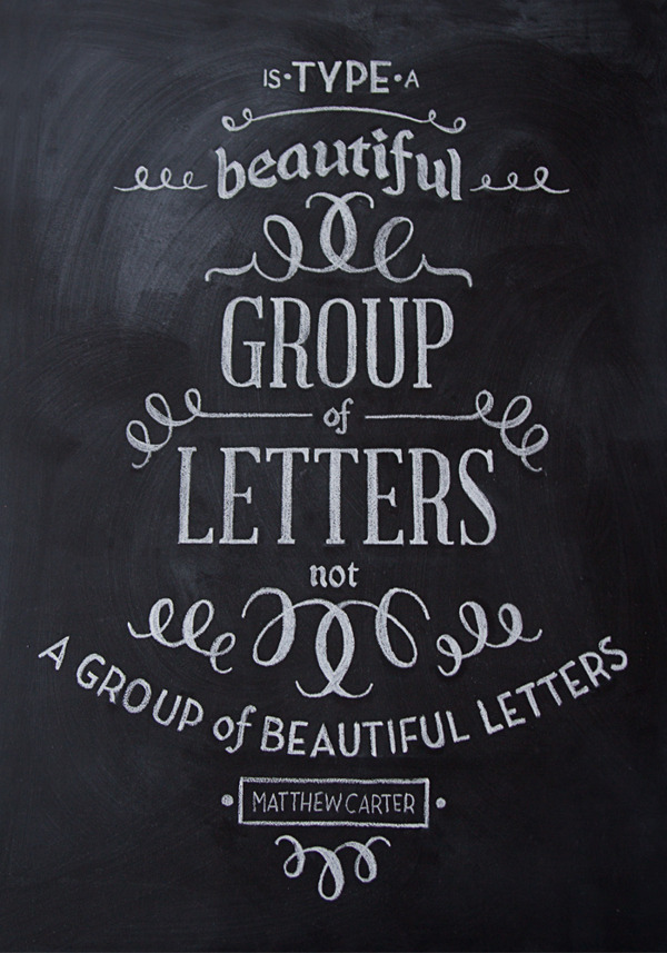 betype:  Chalk Typography