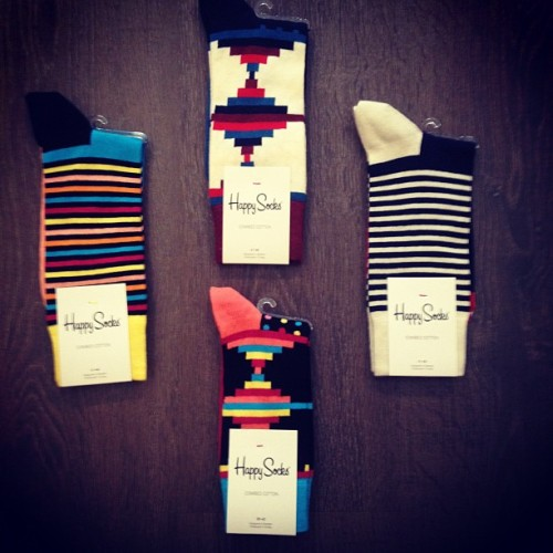 The Happy Cabin stocks Happy Socks now! $16 a pop!