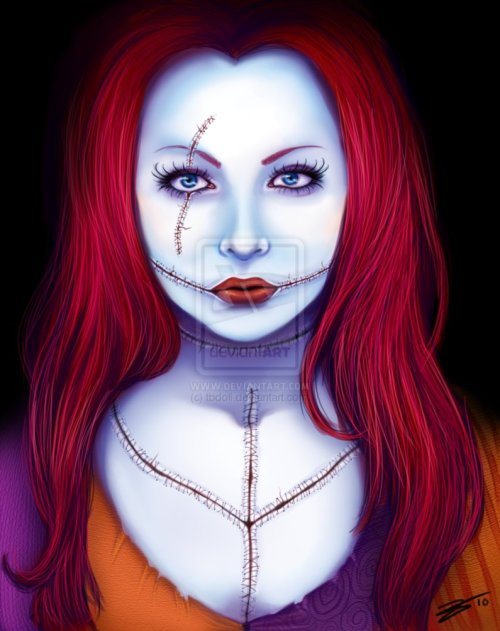 Amy Lee as Sally  http://fav.me/d2wkc9z