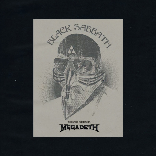 Black Sabbath + Megadeth. Bought it! (instagram)