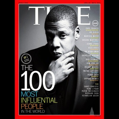 Jay Z covers Time Magazine's 100 Most Influential People In The World issue