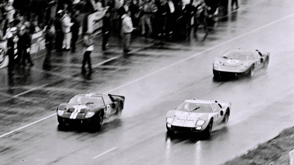 Ford's 1-2-3 victory at Le Mans in 1966 More info @Yahoo! Autos (via:itracing)