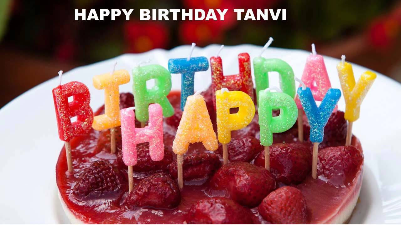 Tasty Birthday Cake For Tanvi