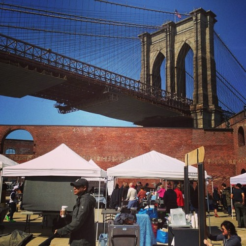 Welcome back to #dumbo, @smorgasburg! (at Smorgasburg DUMBO)