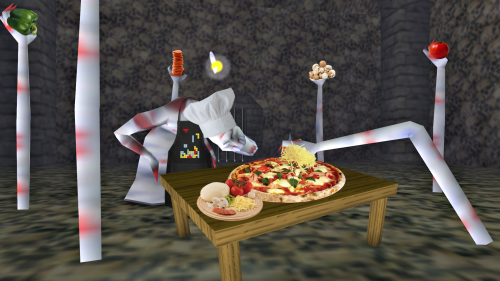 universityofhyrule:  Just making pizza