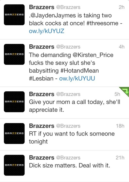 joemande:  Happy Mother's Day from Brazzers.