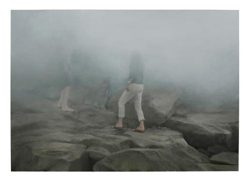 Jonathan Wateridge Fog, 2012Oil on linen 111 x 158 cm (282 x 400 cm) (via L & M Arts - Jonathan Wateridge)
