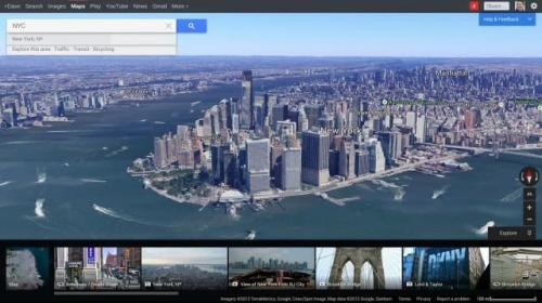 Google announced a completely redesigned Google Maps at the Google I/O Keynote.  Simply put, it looks beautiful.