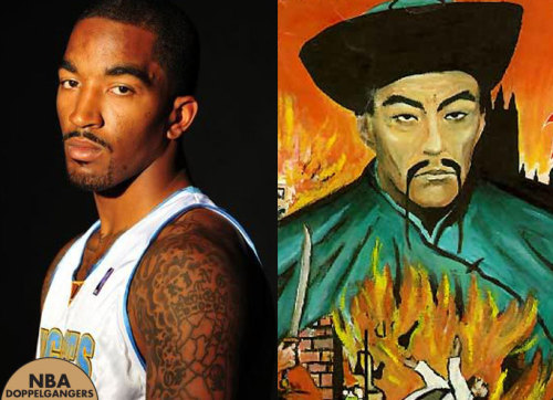 JR Smith | Fu Manchu 6th Man