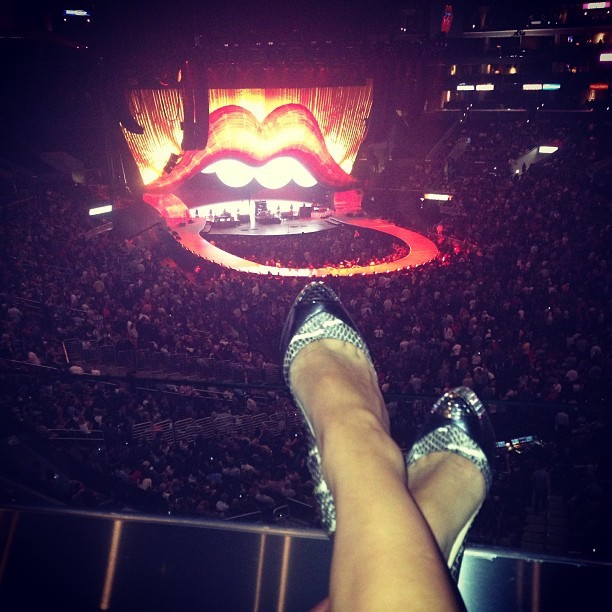 Ready to rock on 👅#rollingstones#rockon#staplescenter#epic#history by jayville_world http://nick-v.me/16VBaGv