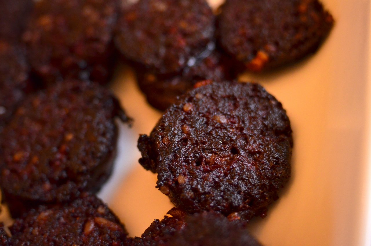 Black pudding is my new favourite food. It's such a unique flavour, give it a go.