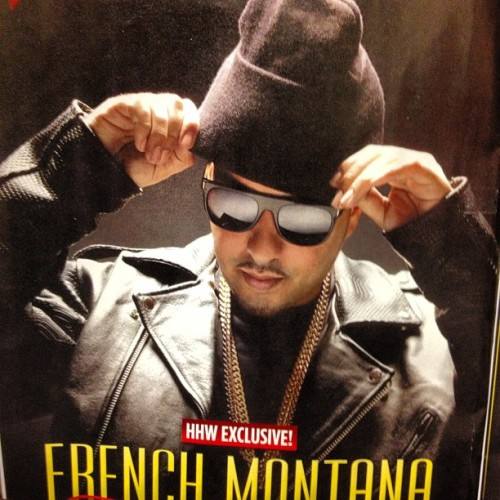 #hiphop #weekly @frenchmontana  rocking custom #touredesigns #the #ghost #designer#motorcycle #leathee #jacket #fashion #fresh #NYC