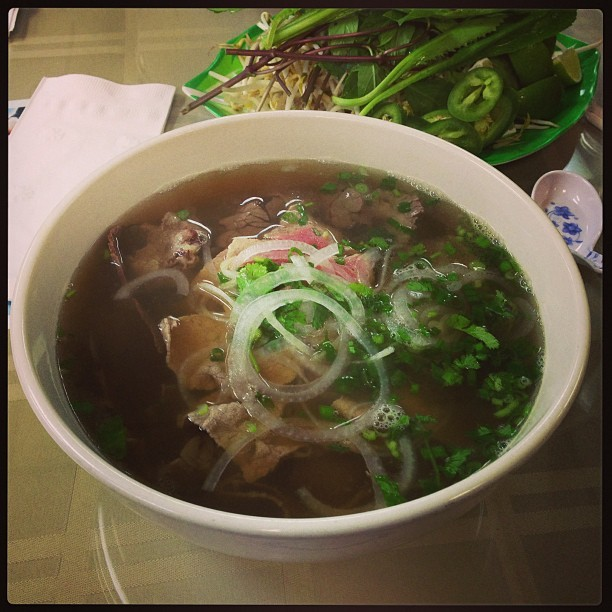 Big phocking bowl of pho