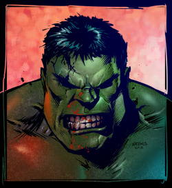 Hulk Sketch Colored by ~VegasDay —-x—- More: | Hulk | Random |