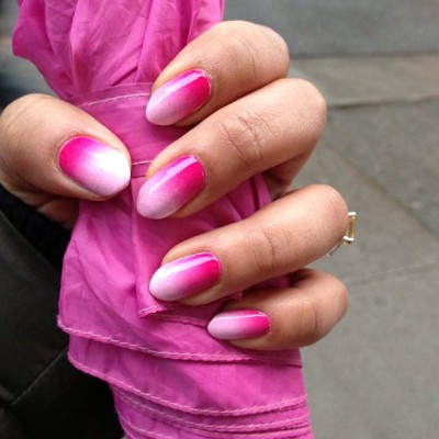 shellbeezy:  Ombré on these NY streets!