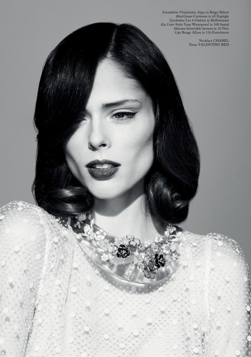 classicmodels:  COCO ROCHA BY JASON HETHERINGTON FOR GLASS #13 SPRING 2013