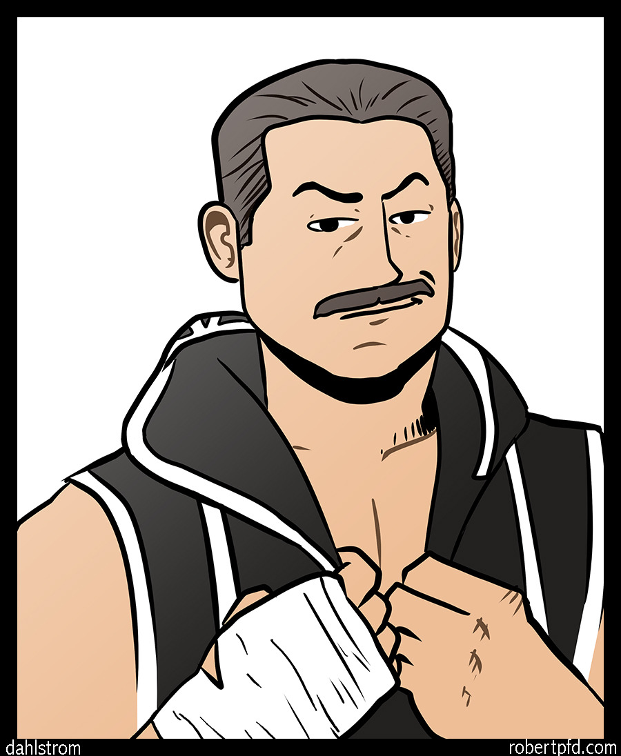 Just sketching around and I liked the Cody Rhodes drawing enough that I colored it.  This  the third time I've drawn Cody, but the first time I drew his face!