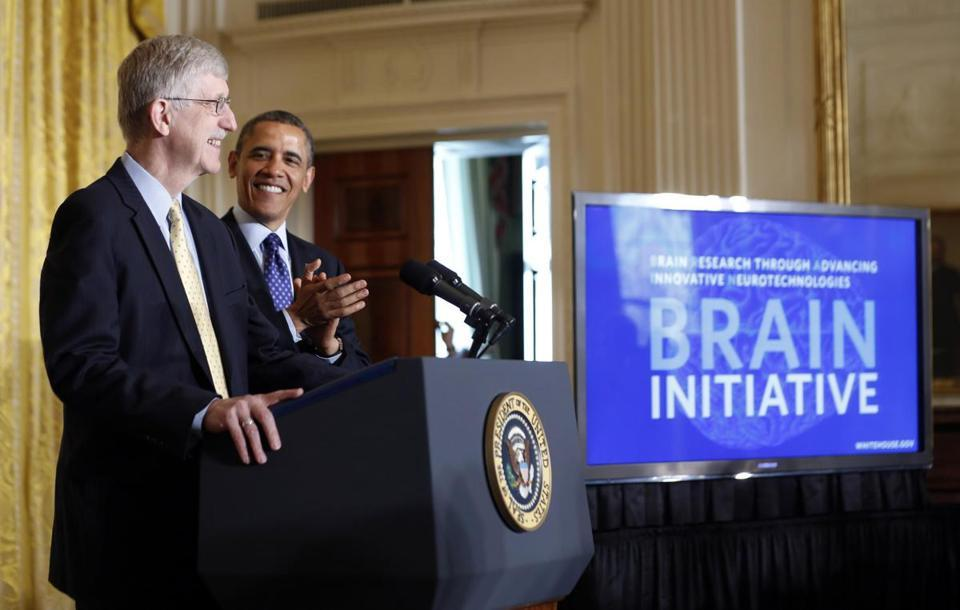 neurosciencestuff:  Obama proposes $100m to map the human brain President Barack Obama on Tuesday asked Congress to spend $100 million next year on a new project to map the human brain in hopes of eventually finding cures for disorders like Alzheimer's, epilepsy and traumatic injuries. Obama said the so-called BRAIN Initiative could create jobs and eventually lead to answers to ailments including Parkinson's and autism and help reverse the effect of a stroke. The president told scientists gathered in the White House's East Room that the research has the potential to improve the lives of billions of people worldwide. ''As humans we can identify galaxies light-years away,'' Obama said. ''We can study particles smaller than an atom, but we still haven't unlocked the mystery of the three pounds of matter that sits between our ears.'' BRAIN stands for Brain Research through Advancing Innovative Neurotechnologies. The idea, which Obama first proposed in his State of the Union address, would require the development of new technology that can record the electrical activity of individual cells and complex neural circuits in the brain ''at the speed of thought,'' the White House said. Obama wants the initial $100 million investment to support research at the National Institutes of Health, the Defense Advanced Research Projects Agency and the National Science Foundation. He also wants private companies, universities and philanthropists to partner with the federal agencies in support of the research. And he wants a study of the ethical, legal and societal implications of the research. The goals of the work are unclear at this point. A working group at NIH, co-chaired by Cornelia ''Cori'' Bargmann of The Rockefeller University and William Newsome of Stanford University, would work on defining the goals and develop a multi-year plan to achieve them that included cost estimates.  Thanks, Mr. President.(´ー`)