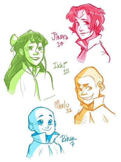 masterarrowhead:  Some older airbabies just because.